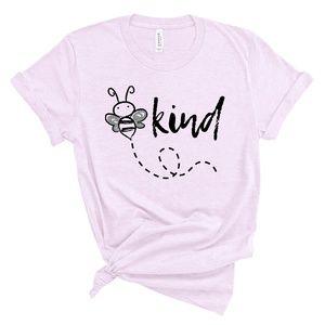 Bee Kind T Shirt Be Kind Bubmebee Tshirt soft
